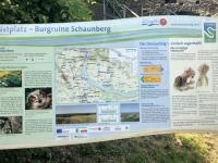 Ruine Schaunberg Schautafel