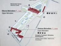 Belvedere Übersichtsplan