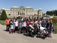 Gruppenfoto Oberes Belvedere