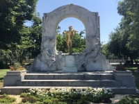 Johann Strauß Denkmal im Stadtpark