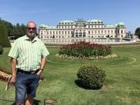 Oberes Belvedere bei wunderschönem Wetter