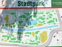 Stadtpark Plan