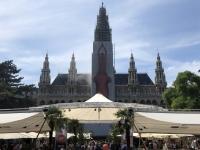 Wiener Rathaus mit Film Festival