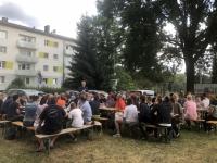 Einfach gemütlich unter der Berliner Eiche