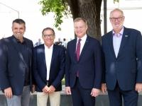 2019 07 12 Ehrenamtstag Land OÖ Linzer Landhaus LH Stelzer mit ASVOÖ Vizepräsidenten