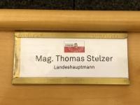 Landtagssaal Platz von LH Stelzer