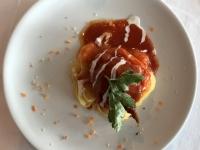 HS Gefüllte Paprika und Tomatensauce
