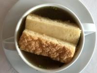 Suppe Rinderbrühe mit Kaiserschöberl
