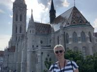 2019 07 19 Budapest Matthiaskirche mit Jutta