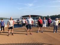2019 07 20 Leichte Gymnastik am Sonnendeck