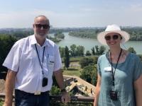 2019 07 21 Belgrad Blick auf Zusammenfluss von Sava und Donau