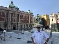 2019 07 21 Belgrad Denkmal Hl Michael