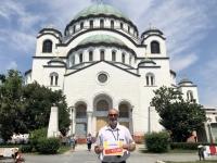 2019 07 21 Belgrad Kirche Hl Sava Reisewelt on Tour