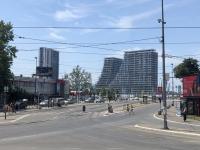 2019 07 21 Belgrad Waterfront 2 Gebäude stehen schon