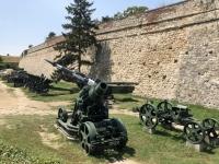 2019 07 21 Belgrader Festung Kriegsgeräte