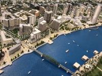 2019 07 21 Belgrader Waterfront im Modell Investion von Saudi Arbabien um 3 bis 4 Mrd Euro