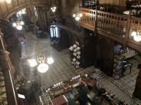 2019 07 23 Bukarest Traditionsbierrestaurant Caru cu bere ehemalige Kirche