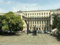 2019 07 23 Bukarest von diesem Dach floh der Diktator 1989
