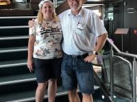 2019 07 24 Besuch von ehemal Kreuzfahrtdir Madaline