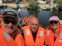 2019 07 24 Delta Safari vor der Abfahrt mit Kreuzfahrtdir