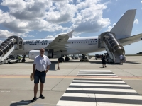 2019 07 25 Flughafen Constanta Just Us Air Airbus A 319