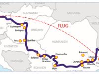 Route Flusskreuzfahrt Donau 2019