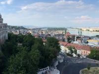 2019 07 19 Budapest Fischerbastei mit Donaublick