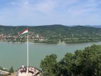 2019 07 19 Visegrad Blick auf das Donauknie