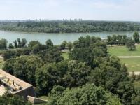 2019 07 21 Belgrad Zusammenfluss von Save und Donau