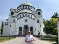 2019 07 21 Belgrad Kirche Hl Sava Reisewelt on Tour 1