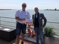 2019 07 24 Donaukilometer 0 Kreuzfahrtdir Christian Reisewelt on Tour