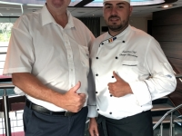Küchenchef George Marchitan aus Rumänien