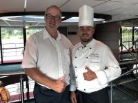 Küchenchef George Marchitan