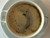 Suppe Bisque de Homard Hummercremesuppe