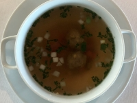 Suppe Rinderconsomme