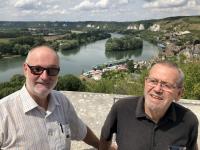 2019 08 01 Blick auf Petit Les Andelys vom Chateau Gaillard Josef