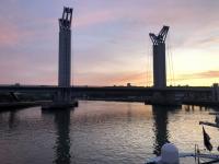 2019 08 01 Brücke nach Rouen