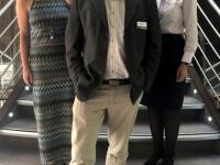 2019 08 01 Kollegin Michi mit Kreuzfahrtdirektorin Andrea Wolfsjäger