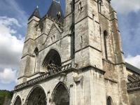 2019 08 01 Spätgotische Kirche Notre Dame in Grand Les Andelys