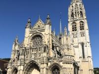 2019 08 02 Caudebec en Caux Kathedrale Notre Dame