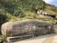 2019 08 02 Etretat Bunkeranlage Weltkrieg 2