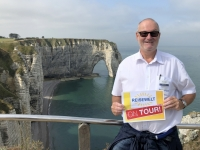 2019 08 02 Etretat Elefantenfelsen Reisewelt on Tour 2