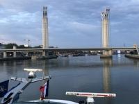 2019 08 03 Brücke vor Rouen