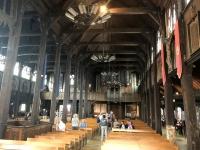 2019 08 03 Honfleur Seefahrerkirche mit 2 Schiffen