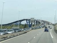 2019 08 03 Honfleur Zusatzbrücke nach der Ponte de Normandie