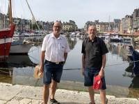 2019 08 03 Honfleur alter Hafen mit Josef Holl