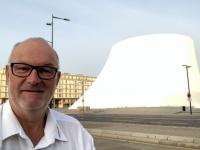 2019 08 03 Le Havre Vulkan Haus der Kunst von Oscar Niemeyer