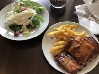 2019 08 03 Ripperl und Pommes zu Mittag