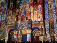 2019 08 03 Rouen Ton und Lichtershow