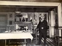 2019 08 05 Giverny Haus von Monet Original mit Maler